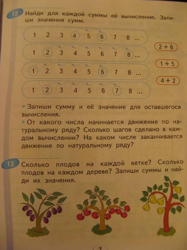 1 класс учебник аргинская гдз математика