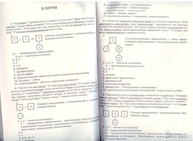 Гдз По Русскому Языку Итоговая Работа Назарова