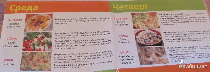 Лечебное питание - Дополнительно - Каталог рецептов, блюд