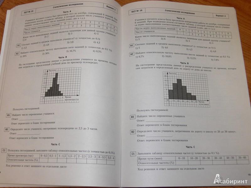 4 тестовые обучения для оценки класс гдз материалы качества