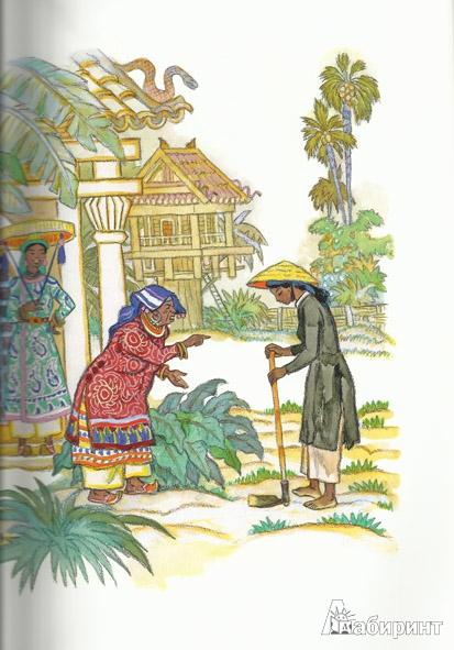 Иллюстрация 6 из 67 для Гора Солнца: восточные сказки | Лабиринт - книги. Источник: Журова  Ольга
