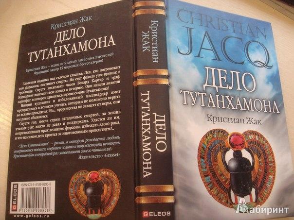 Иллюстрация 1 из 5 для Дело Тутанхамона - Кристиан Жак | Лабиринт - книги. Источник: Гунякова  Анна