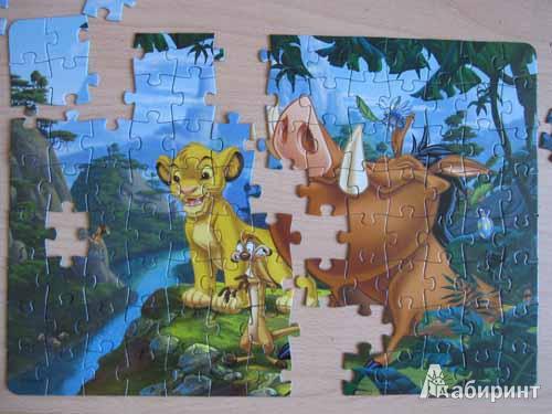 Иллюстрация 1 из 2 для Step Puzzle-104 82103 Король Лев | Лабиринт - игрушки. Источник: Fox  Box