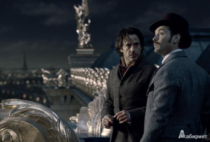 Иллюстрация 1 из 6 для Шерлок Холмс 2: Игра теней (DVD) - Гай Ричи | Лабиринт - видео. Источник: alexss