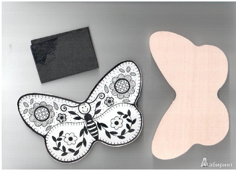"""Иллюстрация 1 из 2 для Доска под роспись и выжигание """"Бабочка"""" (Д-404)   Лабиринт - игрушки. Источник: gabi"""