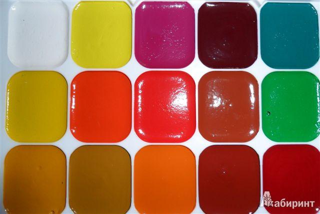 """Иллюстрация 1 из 16 для Акварель медовая 24 цвета """"Zanzibar"""" (961027-24)   Лабиринт - канцтовы. Источник: *_Vesna_*"""