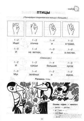 Иллюстрация 1 из 21 для Тренируем пальчики - развиваем речь. Средняя группа детского сада.  ФГОС ДО - Ольга Крупенчук | Лабиринт - книги. Источник: *_Vesna_*