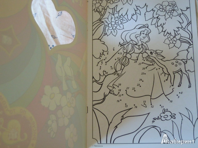 Иллюстрация 1 из 16 для Рисуем по точкам. Принцессы | Лабиринт - книги. Источник: Iwolga