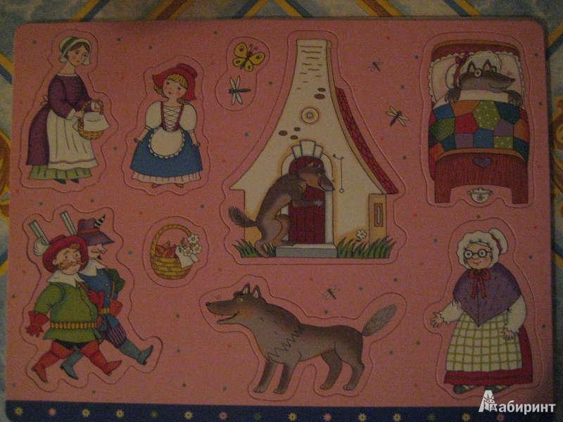 Иллюстрация 1 из 3 для Расскажи сказку: Дюймовочка, Красная Шапочка | Лабиринт - игрушки. Источник: Virginia