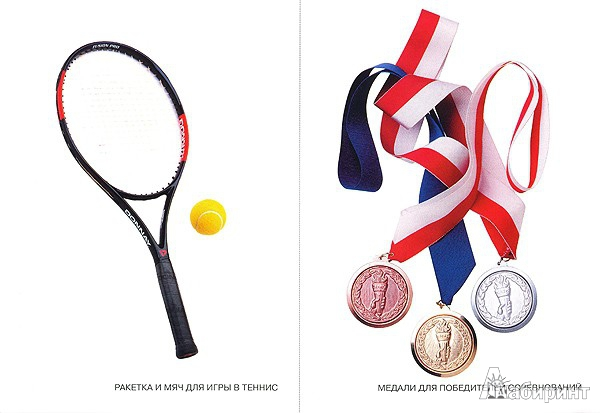 Иллюстрация 1 из 6 для Мир в картинках: Спортивный инвентарь. Для детей 3-7 лет | Лабиринт - книги. Источник: Низамутдинова  Олия