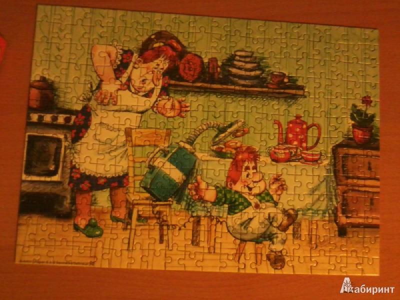 """Иллюстрация 1 из 4 для Puzzle-260. """"Карлсон"""" (л) (B-26022)   Лабиринт - игрушки. Источник: Наташа-13"""