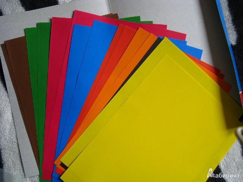 Иллюстрация 1 из 6 для Набор цветной бумаги 16 листов (FKIN-6416-K) | Лабиринт - канцтовы. Источник: зеброчка