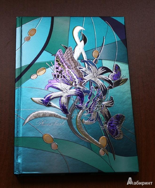 """Иллюстрация 1 из 8 для Телефонная книга """"Цветочная фантазия 4"""", 96 листов (18270)   Лабиринт - канцтовы. Источник: ixora"""