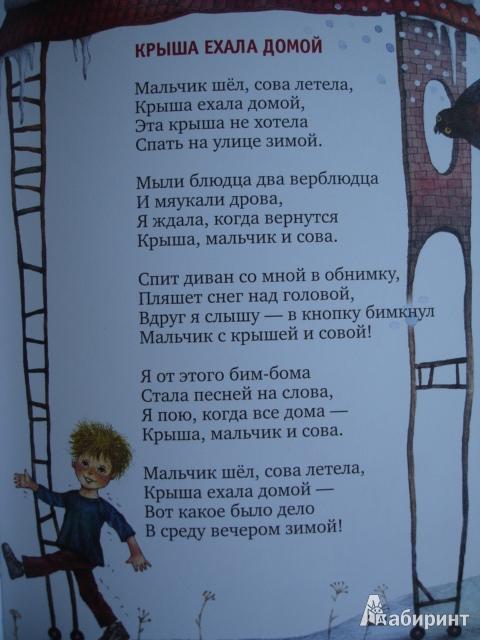 Иллюстрация 17 из 145 для Крыша ехала домой - Юнна Мориц | Лабиринт - книги. Источник: Blackboard_Writer