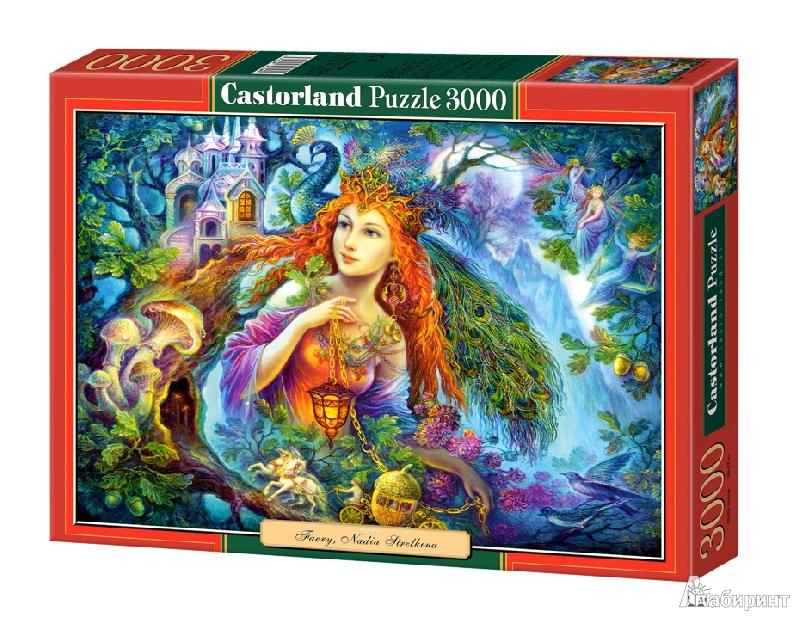 """Иллюстрация 1 из 12 для Puzzle, 3000 элементов, """"Фея"""" (C-300303-М)   Лабиринт - игрушки. Источник: Lucid Dream"""