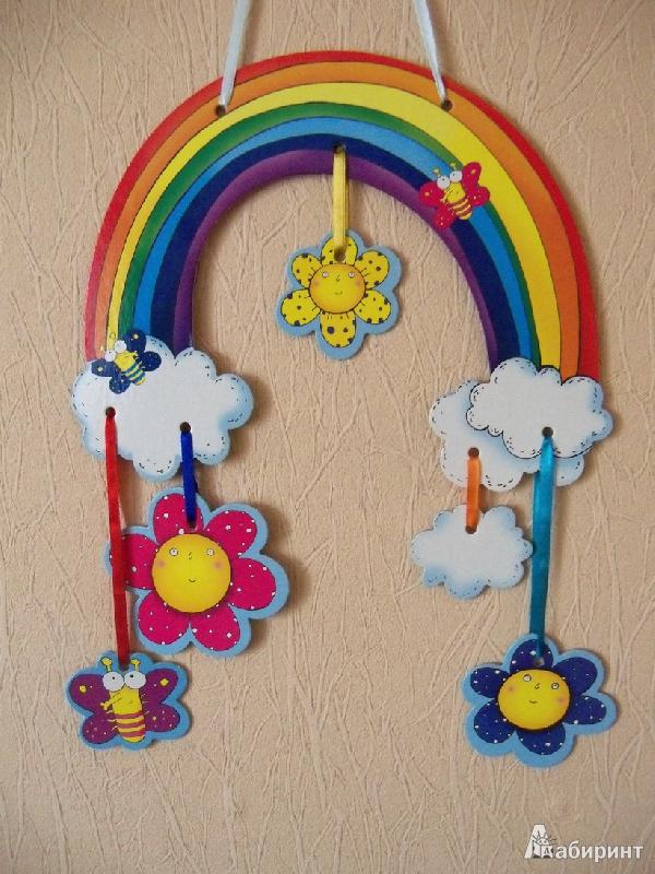 Иллюстрация 1 из 2 для Мобиль: Радуга | Лабиринт - игрушки. Источник: Photine