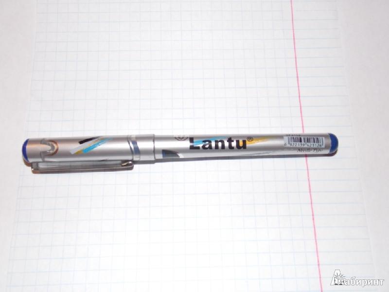 Иллюстрация 1 из 6 для Ручка роллер Lantu (синяя) | Лабиринт - канцтовы. Источник: Mrafoglov