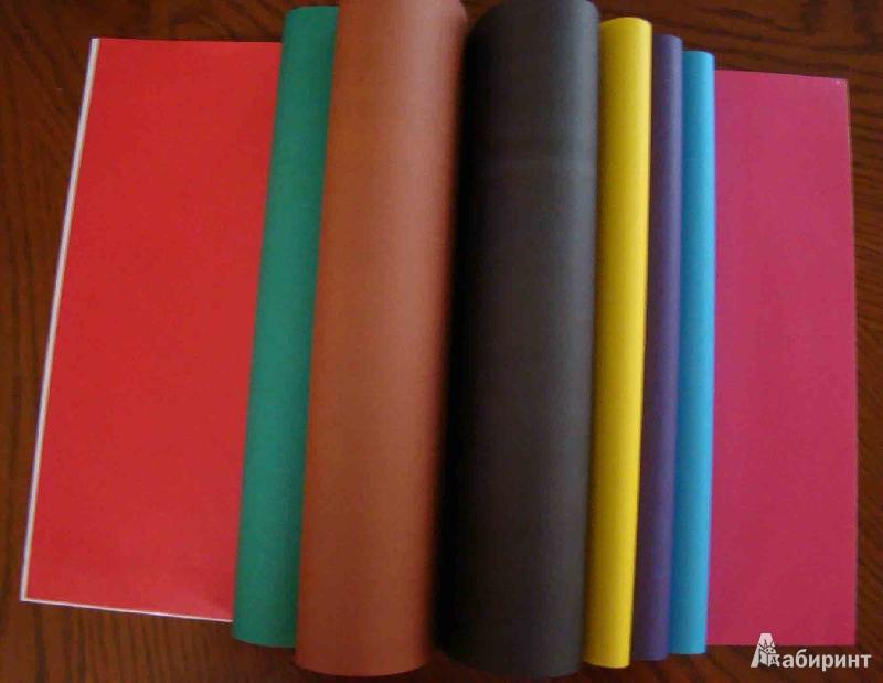 """Иллюстрация 1 из 6 для Бумага цветная 16 листов, 8 цветов """"ФУТБОЛ"""" А4 (28395)   Лабиринт - канцтовы. Источник: Easy"""