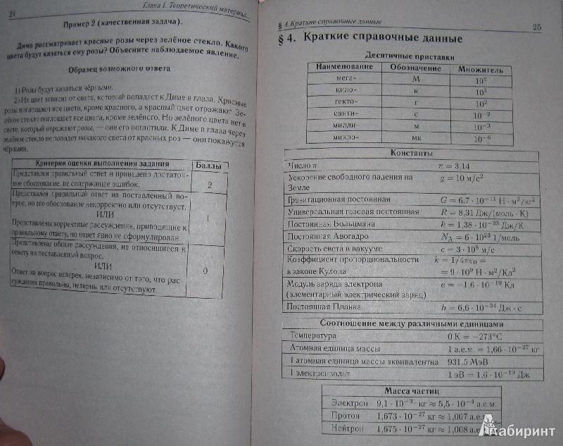 Методический материал 9 класс марон гдз
