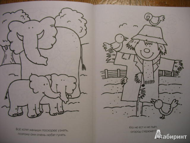 Иллюстрация 1 из 25 для Любимые раскраски для мальшей (оранжевая) - О. Самусенко | Лабиринт - книги. Источник: kolobus