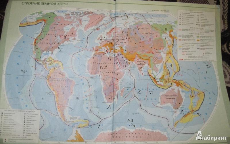Схематизмы по географии в 7 классе