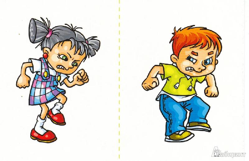Иллюстрация 1 из 6 для Злой, веселый, грустный. Набор игровых карточек для развития внимания, памяти, навыков общения - Монина, Лютова-Робертс | Лабиринт - книги. Источник: mif