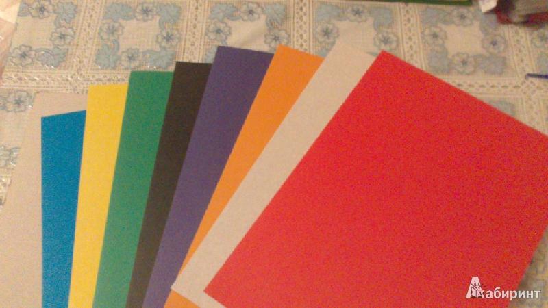 """Иллюстрация 1 из 3 для Картон цветной 8 листов, 8 цветов """"Клево!"""" А4 (918057-14)   Лабиринт - канцтовы. Источник: Жукова  Анна"""