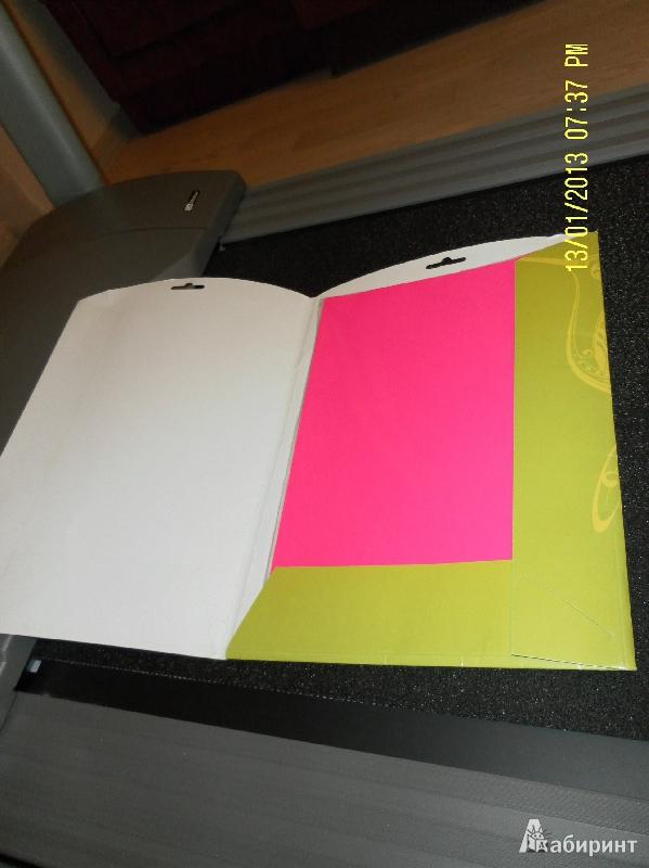 Иллюстрация 1 из 4 для Бумага флюорисцентная самоклеящаяся 10 листов, 5 цветов, А4 (917098-24) | Лабиринт - канцтовы. Источник: polinaiam