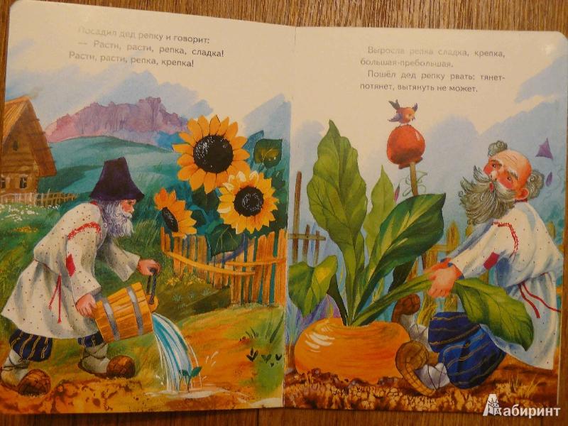 Иллюстрация 1 из 12 для Репка | Лабиринт - книги. Источник: Махинина  Светлана