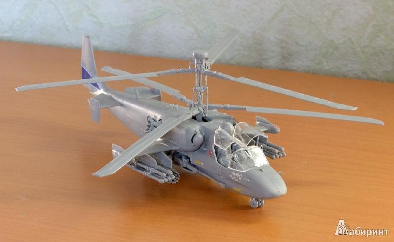 """Иллюстрация 1 из 9 для 7224/Российский боевой вертолет Ка-52 """"Аллигатор""""   Лабиринт - игрушки. Источник: Lustralis"""