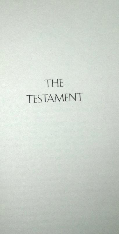 Иллюстрация 1 из 5 для The Testament - John Grisham | Лабиринт - книги. Источник: Леонид Сергеев