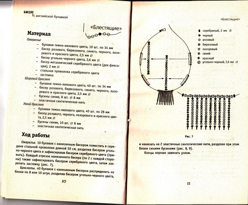 Иллюстрация 1 из 3 для Бисер с английской булавкой - Н. Загорская | Лабиринт - книги. Источник: Анастасия Бондарчук, Киселевск