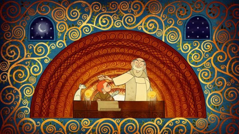 Иллюстрация 1 из 7 для Тайна Келлс (DVD) - Томм Мур | Лабиринт - видео. Источник: Бабушкина  Любовь Михайловна