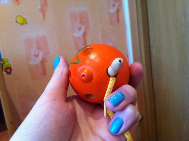 Иллюстрация 1 из 4 для Апельсин-шнуровка (Ш-070) | Лабиринт - игрушки. Источник: Петрова  Екатерина