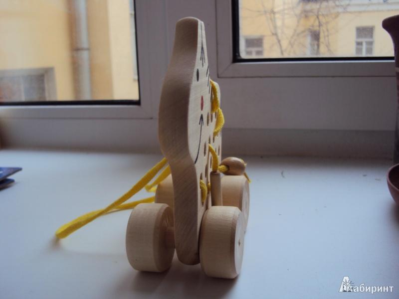Иллюстрация 1 из 5 для Лошадка на колесиках (Ш-064)   Лабиринт - игрушки. Источник: л.и.