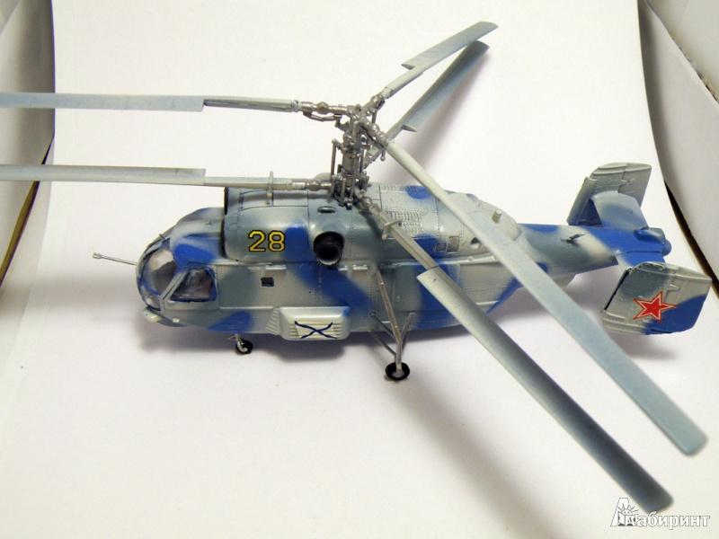 Иллюстрация 1 из 5 для 7214/Советский противолодочный вертолет Ка-27   Лабиринт - игрушки. Источник: Деменков  Евгений