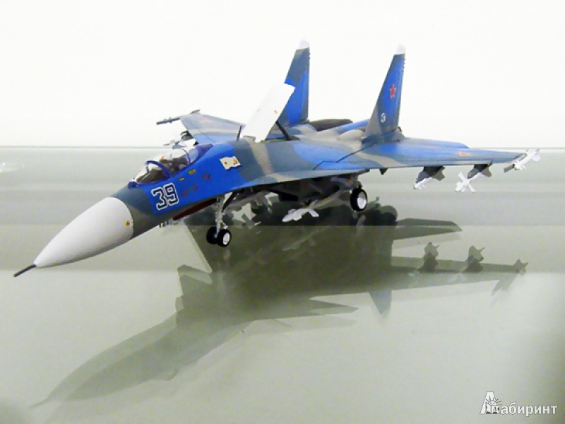 Иллюстрация 1 из 5 для 7207/Российский палубный истребитель Су-33 | Лабиринт - игрушки. Источник: Деменков  Евгений