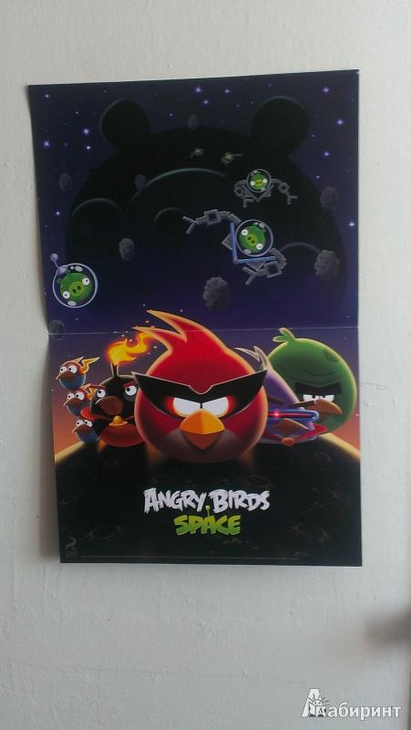 Иллюстрация 1 из 5 для Angry Birds. Space. Космические герои. Книга постеров | Лабиринт - сувениры. Источник: СаНатал
