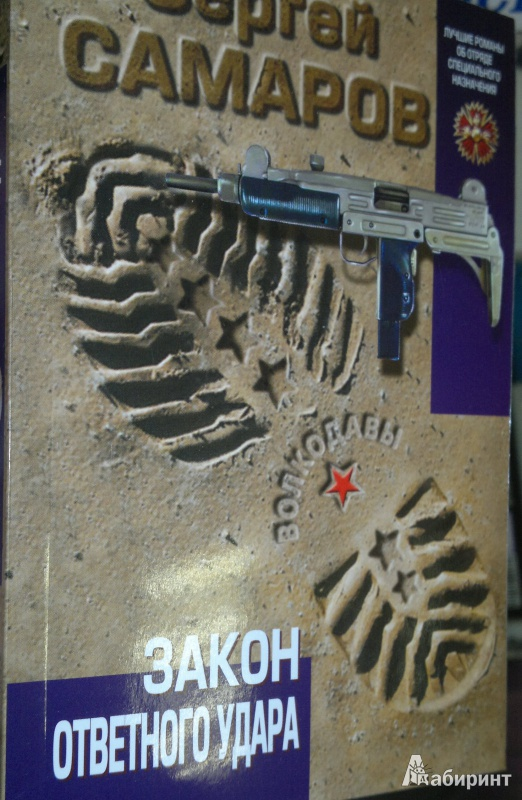 Иллюстрация 1 из 6 для Закон ответного удара - Сергей Самаров | Лабиринт - книги. Источник: Леонид Сергеев