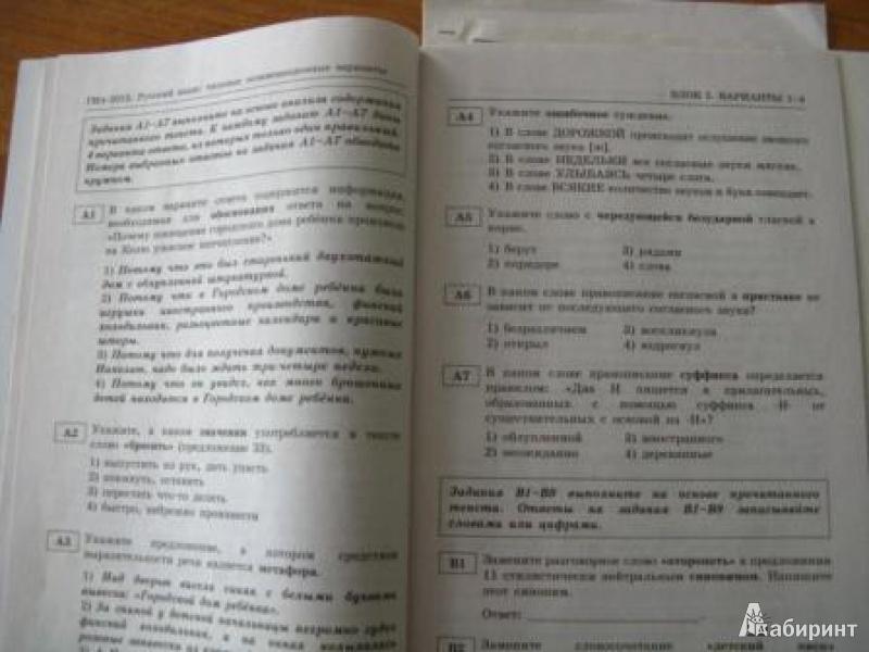 типовые экзаменационные варианты 2013 математика