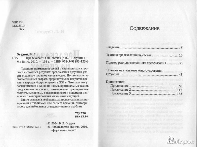 Иллюстрация 1 из 5 для Предсказание на свечах - Валентин Огудин   Лабиринт - книги. Источник: Лапина  Галина