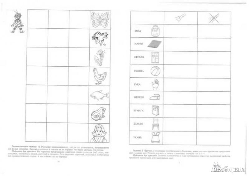 Иллюстрация 1 из 20 для Добро пожаловать в экологию! Рабочая тетрадь для детей 6-7 лет. Подготовительная группа. Часть 2 - Ольга Воронкевич | Лабиринт - книги. Источник: TNadin