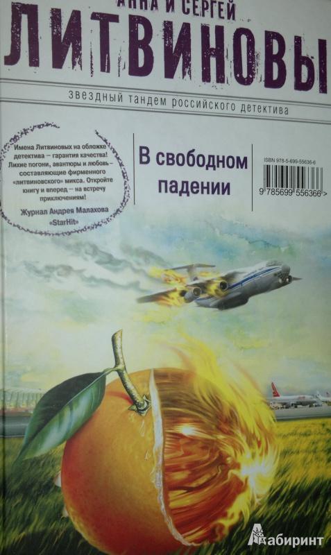 Иллюстрация 1 из 23 для В свободном падении - Литвинова, Литвинов   Лабиринт - книги. Источник: Леонид Сергеев