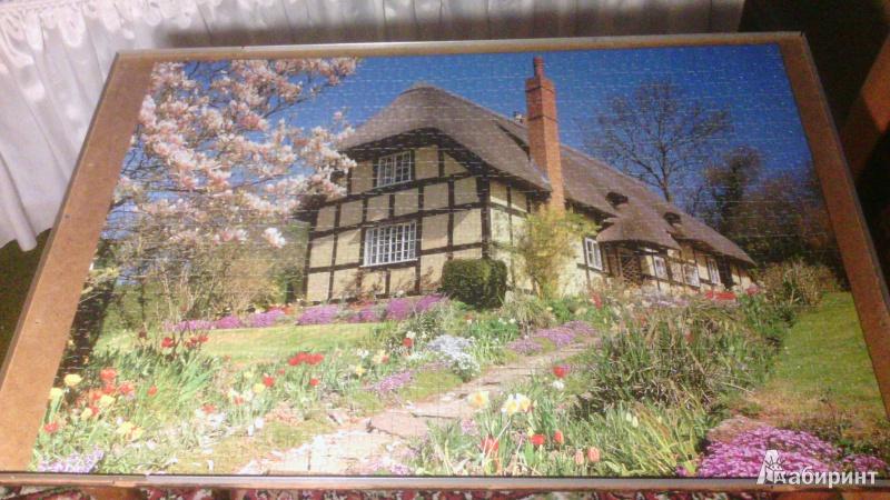 Иллюстрация 1 из 10 для Английский коттедж. Истнор. Step Puzzle-1000 79052   Лабиринт - игрушки. Источник: val21