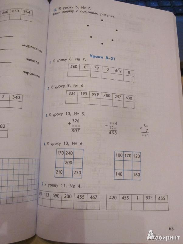 гдз по математике дидактический материал 4 класс козлова самойлова