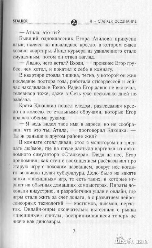 Иллюстрация 9 из 24 для Я - сталкер. Осознание - Левицкий, Бобл | Лабиринт - книги. Источник: Bash7