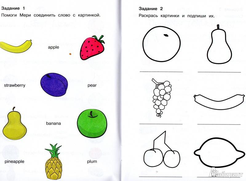 урок для малышей знакомство на английском