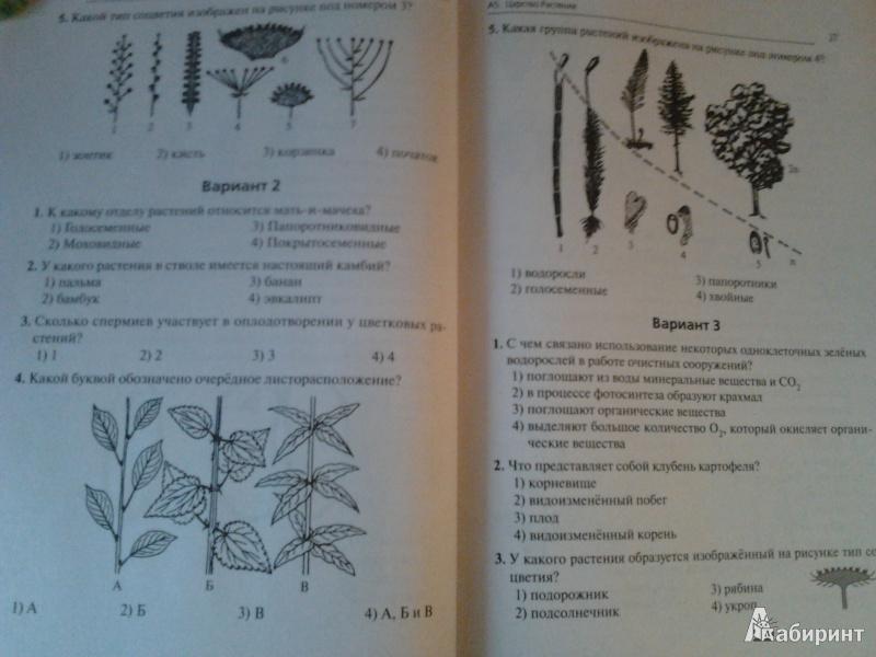 Геа по биологии 9класс