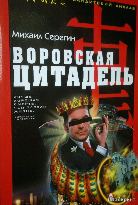 Иллюстрация 1 из 4 для Воровская цитадель - Михаил Серегин   Лабиринт - книги. Источник: Леонид Сергеев