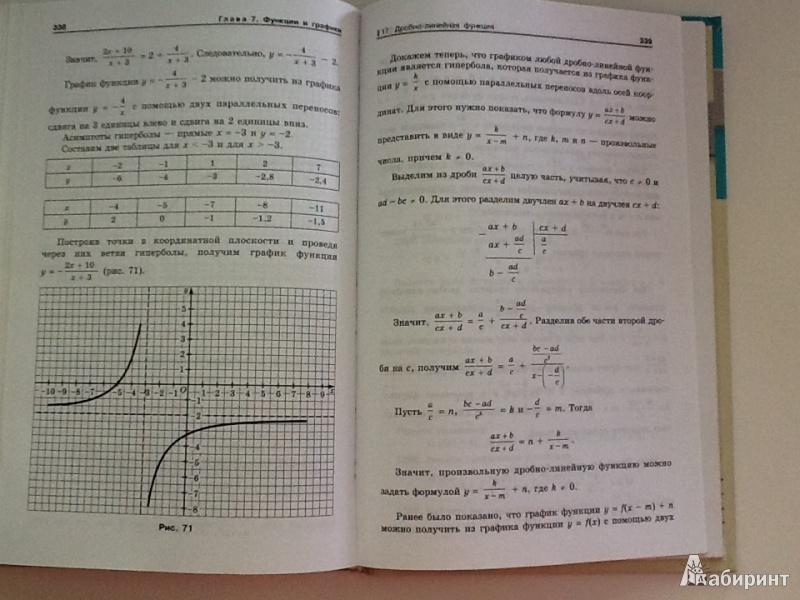 Алгебра 9 феоктистов гдз